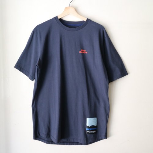 STAY HUNGRY / B Ball T-Shirt「Navy」