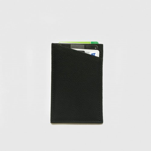 <img class='new_mark_img1' src='https://img.shop-pro.jp/img/new/icons57.gif' style='border:none;display:inline;margin:0px;padding:0px;width:auto;' />ERA. / BUBBLE CALF CASHLESS WALLET「Black」