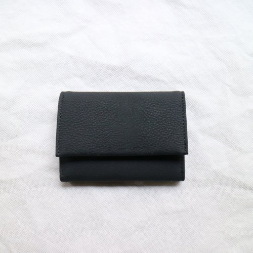 ERA. / BUBBLE CALF BUSINESS CARD CASE「Black」