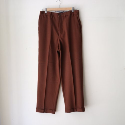 WESTOVERALLS /  GOOD FIT TROUSERS「Brown」