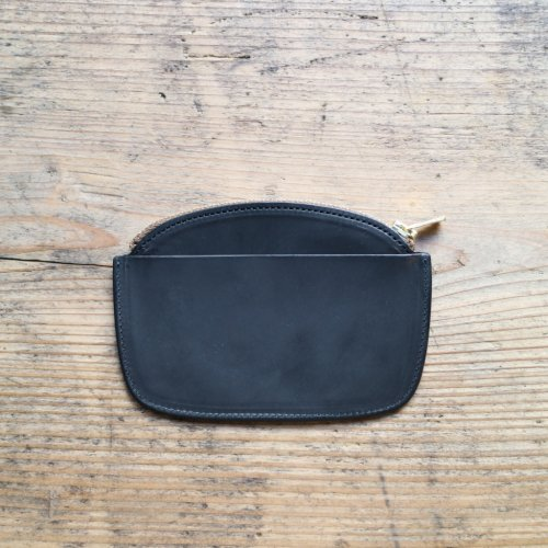 forme (フォルメ)  / Coin Purse「baby Calf Leather 」Black
