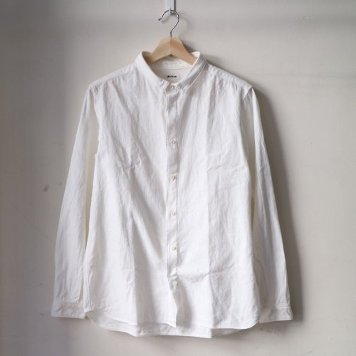 MITTAN / 岡崎木綿シャツ SH-48 「白」