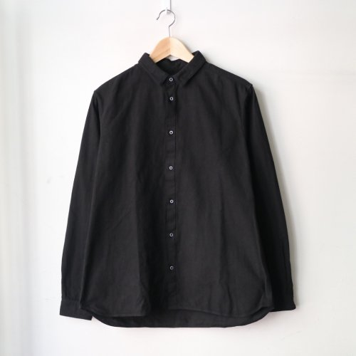 MITTAN / 岡崎木綿シャツ SH-48 「黒」