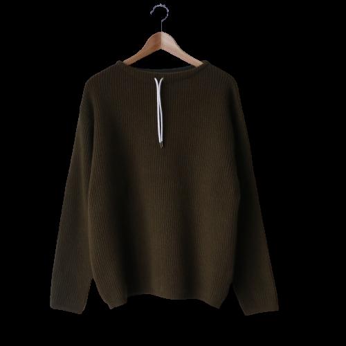 FUJITO / Commando Sweater「Olive Green」