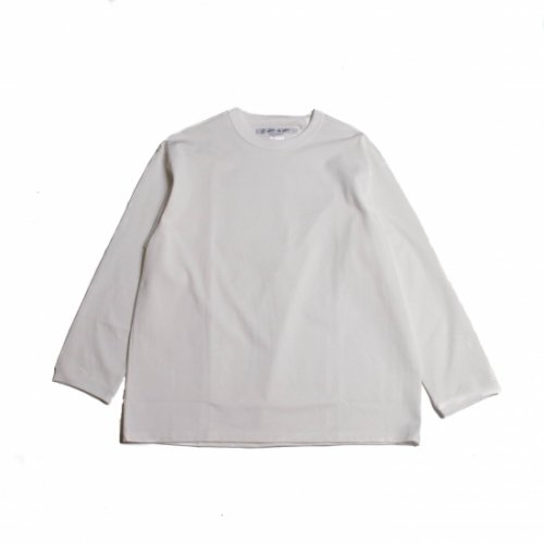 <img class='new_mark_img1' src='https://img.shop-pro.jp/img/new/icons6.gif' style='border:none;display:inline;margin:0px;padding:0px;width:auto;' />EEL Products / ロングスリーブTシャツ 「Qualitee」 ホワイト
