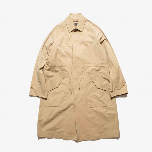 <img class='new_mark_img1' src='https://img.shop-pro.jp/img/new/icons6.gif' style='border:none;display:inline;margin:0px;padding:0px;width:auto;' />comm.arch./ SMOOTH STAIN COLLAR COAT 「Chino」