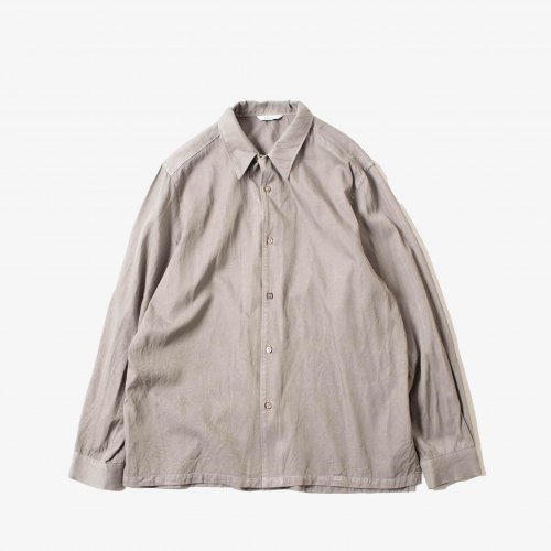 <img class='new_mark_img1' src='https://img.shop-pro.jp/img/new/icons6.gif' style='border:none;display:inline;margin:0px;padding:0px;width:auto;' />kontor / Point Collar Shirt 「Grey」