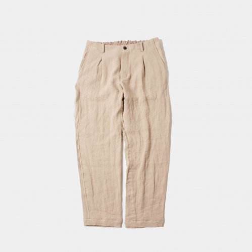 <img class='new_mark_img1' src='https://img.shop-pro.jp/img/new/icons6.gif' style='border:none;display:inline;margin:0px;padding:0px;width:auto;' />comm.arch./ Linen Viyella Trousers 「Chino」