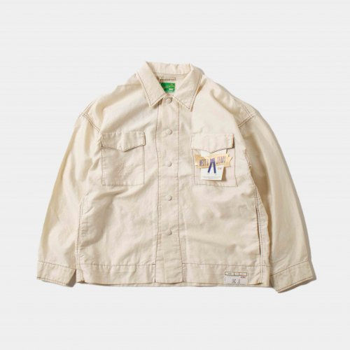 <img class='new_mark_img1' src='https://img.shop-pro.jp/img/new/icons6.gif' style='border:none;display:inline;margin:0px;padding:0px;width:auto;' />WESTOVERALLS / Track Shirt Season 「Off」
