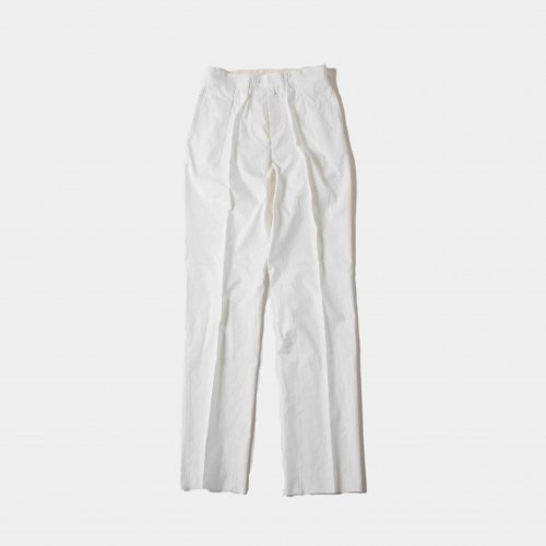 SH (エスエイチ) /  NEAT For SH Exclusive Trousers  「White」<img class='new_mark_img2' src='https://img.shop-pro.jp/img/new/icons6.gif' style='border:none;display:inline;margin:0px;padding:0px;width:auto;' />