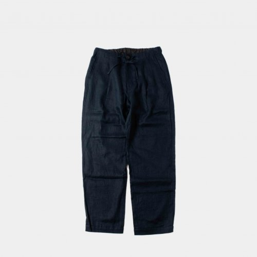<img class='new_mark_img1' src='https://img.shop-pro.jp/img/new/icons6.gif' style='border:none;display:inline;margin:0px;padding:0px;width:auto;' />comm.arch. / Linen Easy Trousers 「Night Ocean」