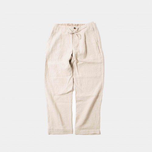 <img class='new_mark_img1' src='https://img.shop-pro.jp/img/new/icons6.gif' style='border:none;display:inline;margin:0px;padding:0px;width:auto;' />comm.arch. / Linen Easy Trousers 「Mist」