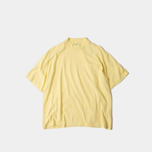 <img class='new_mark_img1' src='https://img.shop-pro.jp/img/new/icons6.gif' style='border:none;display:inline;margin:0px;padding:0px;width:auto;' />WESTOVERALLS / Trefoil Pocket T-Shirt 「Yellow」