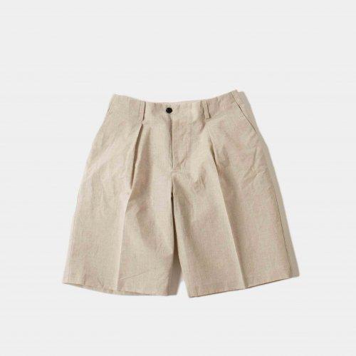 kontor / Coated Shorts 「Ecru」