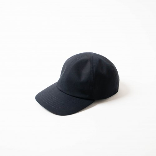 MATURE HA._MIL / Water Proof 素材 Trainer Cap 「Navy」<img class='new_mark_img2' src='https://img.shop-pro.jp/img/new/icons6.gif' style='border:none;display:inline;margin:0px;padding:0px;width:auto;' />