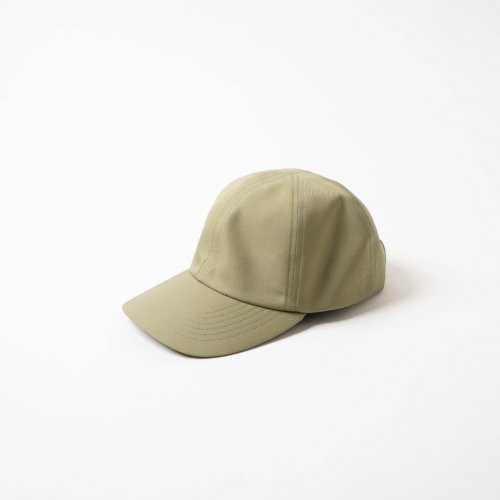 MATURE HA._MIL / Water Proof 素材 Trainer Cap 「Sage」<img class='new_mark_img2' src='https://img.shop-pro.jp/img/new/icons6.gif' style='border:none;display:inline;margin:0px;padding:0px;width:auto;' />