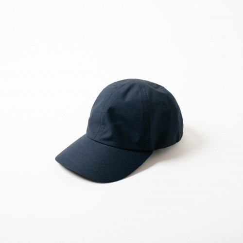 MATURE HA._MIL / Cotton素材 Trainer Cap 「Navy」<img class='new_mark_img2' src='https://img.shop-pro.jp/img/new/icons6.gif' style='border:none;display:inline;margin:0px;padding:0px;width:auto;' />