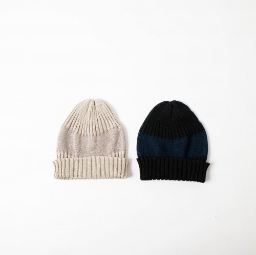 mature ha. / Knit Cap Linen <img class='new_mark_img2' src='https://img.shop-pro.jp/img/new/icons6.gif' style='border:none;display:inline;margin:0px;padding:0px;width:auto;' />