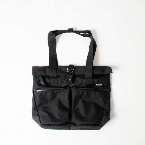 <img class='new_mark_img1' src='https://img.shop-pro.jp/img/new/icons6.gif' style='border:none;display:inline;margin:0px;padding:0px;width:auto;' />bagjack / TOTE TWIST POCKET 「Black」