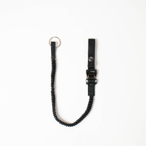 <img class='new_mark_img1' src='https://img.shop-pro.jp/img/new/icons6.gif' style='border:none;display:inline;margin:0px;padding:0px;width:auto;' />bagjack / pistol lanyard cobra 「Black」