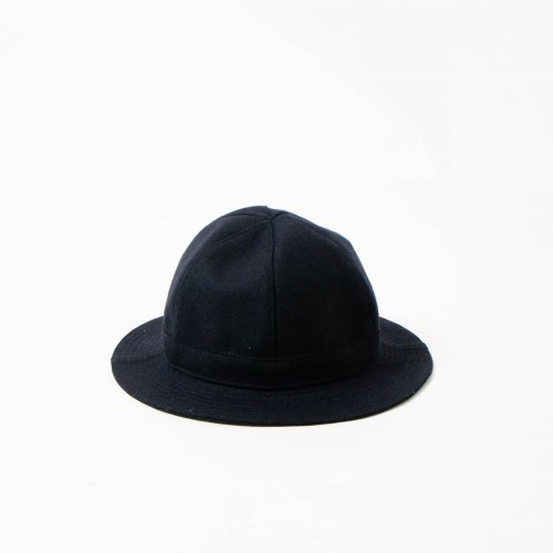 MATURE HA._MIL / Melton Metro Hat 「Navy」<img class='new_mark_img2' src='https://img.shop-pro.jp/img/new/icons6.gif' style='border:none;display:inline;margin:0px;padding:0px;width:auto;' />
