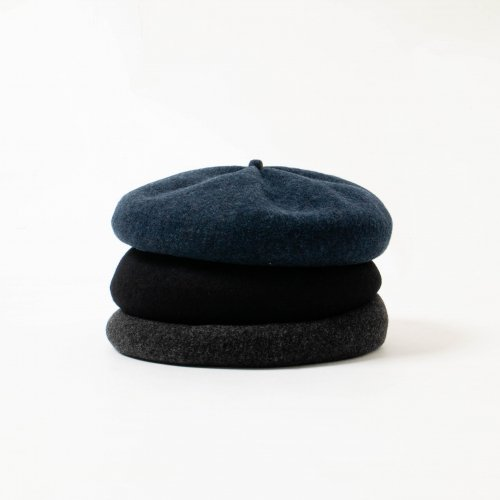 mature ha. / メルトン素材 Beret Top Gather Big<img class='new_mark_img2' src='https://img.shop-pro.jp/img/new/icons6.gif' style='border:none;display:inline;margin:0px;padding:0px;width:auto;' />