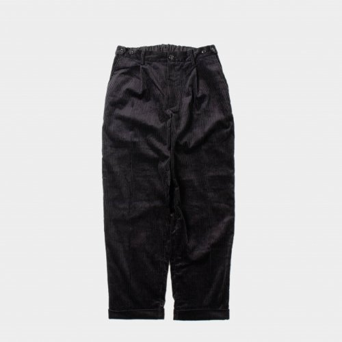 <img class='new_mark_img1' src='https://img.shop-pro.jp/img/new/icons6.gif' style='border:none;display:inline;margin:0px;padding:0px;width:auto;' />comm.arch./ 6W Corduroy Trousers 「Deep Ocean」