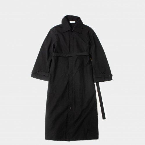 <img class='new_mark_img1' src='https://img.shop-pro.jp/img/new/icons6.gif' style='border:none;display:inline;margin:0px;padding:0px;width:auto;' />THE HINOKI(ザ ヒノキ)/  【レディース】 OG Cotton Wool Coat Dress 「Dark Navy」