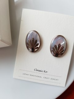 再入荷!classic ko (クラシックコー) ピアス・イヤリング    Palmet  silver