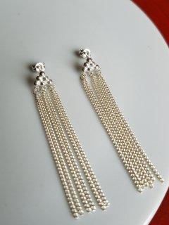 mamelon(マメロン)銀の粒 silver graines ピアス