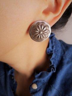 Indian jewellery(インディアンジュエリー) フラワーモチーフピアス Sterling Silver【ネコポス指定可能】