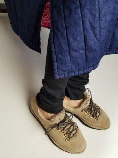 Honnete (オネット)ハイライズ リブレギンス cotton silk Rib【ネコポス指定可能】