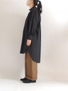 SI-HIRAI (スーヒライ) ハイネックロングブラウス HI-NECK LONG BS