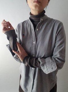 Bohemians(ボヘミアンズ) FLANNEL TWILL STAND COL SHIRTS フランネルスタンドシャツ 【ネコポス指定可能】