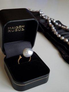 MAISON_RUBUS(メゾンルーバス)南洋バロックパール・リングNimbus ring(大)(10KYG)