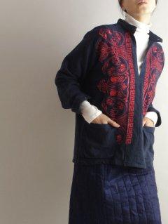 Bohemians(ボヘミアンズ) ギリシャ刺繍 プルオーバーシャツ GREEK EMB FLANNEL PULL SHIRTS