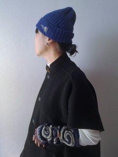 KAPITAL(キャピタル) インディゴ染め 綿ニットキャップ【ネコポス便指定可能】