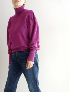 KAPITAL(キャピタル)ウールパフスリーブ ハイネックセーター