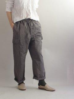 ★HARROW TOWN STORES(ハロータウンストアーズ)カーゴ イージーパンツ CARGO EASY PANTS (Cotton Linen)