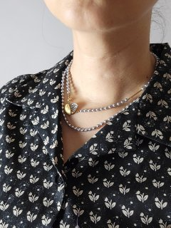 ★monshiro(モンシロ)ハナミズキ ロングネックレス HANAMIZUKI long necklace