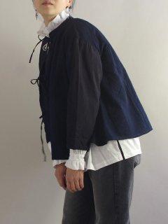 ★TIGRE BROCANTE(ティグルブロカンテ) 限定品 藍の古布 ギャザー チュニック Gather Tie tunic  made in Fukuoka