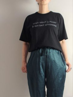 ARMEN(アーメン)コットンジャージークルーネック オーバーサイズTシャツ S/SL 【ネコポス指定可】