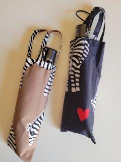 Bohemians(ボヘミアンズ) ZEBRA TF  FOLDING UMBRELLA 折りたたみ傘