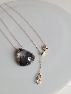 ★MAISON RUBUS(メゾンルーバス) Landscape necklace  ランドスケープ ネックレス(デンドリッククォーツ)10KYG