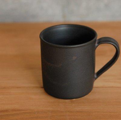 鉄錆釉 マグカップ / 加藤 智裕