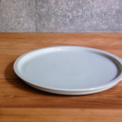 6寸リム皿(白) / こいずみ みゆき