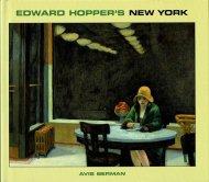 Edward Hopper's New York <br>エドワード・ホッパー画集