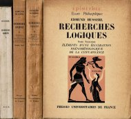Recherches logiques <br>仏文 論理学研究 <br>tome1〜3 3巻4冊揃 <br>フッサール