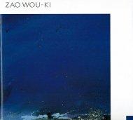 ZAO WOU-KI <br>ザオ・ウーキー展 <br>図録