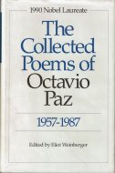 The Collected Poems of <br>Octavio Paz, <br>1957-1987 <br>英・西)オクタビオ・パス詩選集